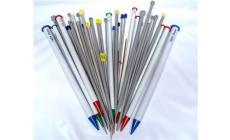 Ferri Lana alluminio cm.40 misure dal 5,5 al 7 Prym
