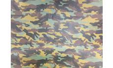 Tessuto Ecopelle Militare h.140