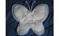 Fiocco nascita farfalla La Chiocciolina Art.FN797